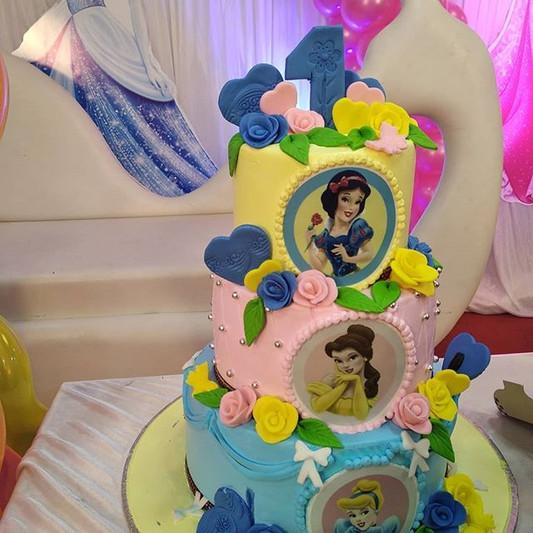 Customised First Birthday Cake