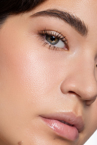 closeup natural makeup look, makeup by Lindsay Kastuk, Photography by Edward Anthony Photography, Model Taylor Hennings, makeup artist nyc