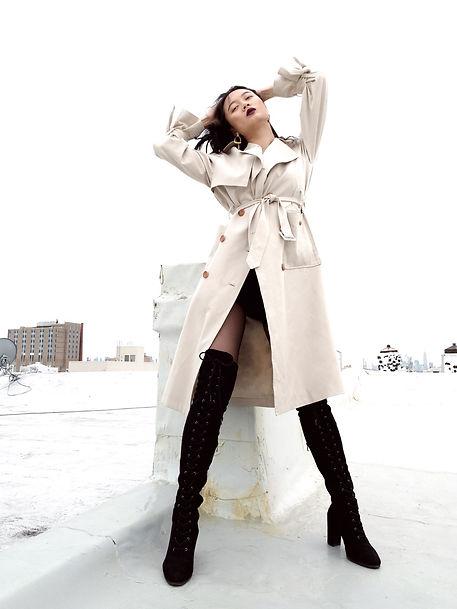virtual fashion shoot