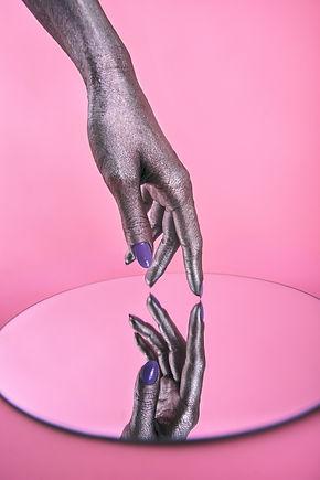 editorial hands, creative makeup artist