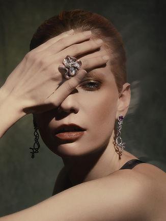 Viktoria Jakab, fashion makeup nyc