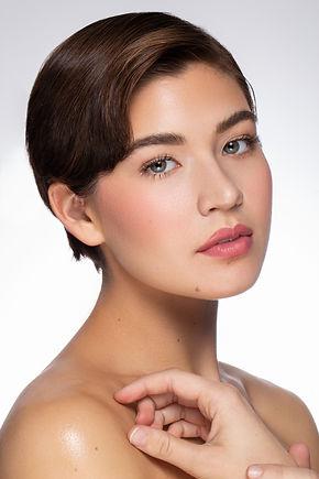 Soft pink makeup look, makeup by Lindsay Kastuk, Photography by Edward Anthony Photography, Model Taylor Hennings, makeup artist nyc