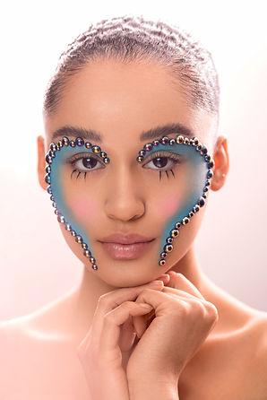 fantasy makeup look, creative makeup artist