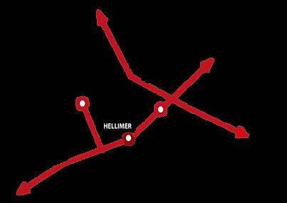 Plan d'accès à Hellimer