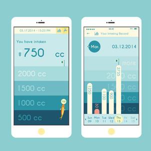 Water App UI Design