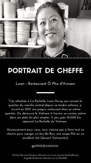 Loan, Cheffe au O Pho D'Annam