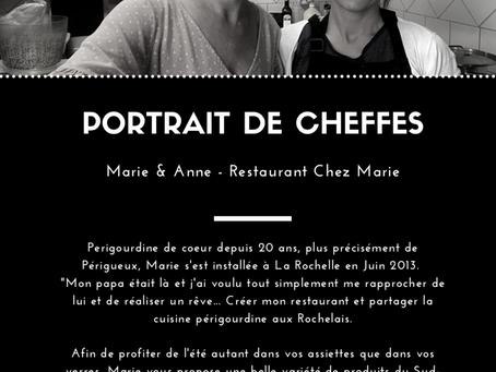 Restaurant Chez Marie, Marie & Anne