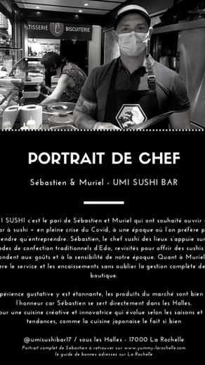 Sébastien & Muriel, UMI SUSHI BAR