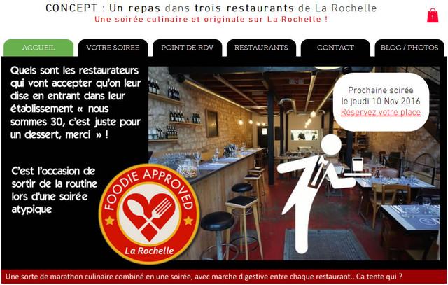 Dishcrawl La Rochelle : le site internet est prêt