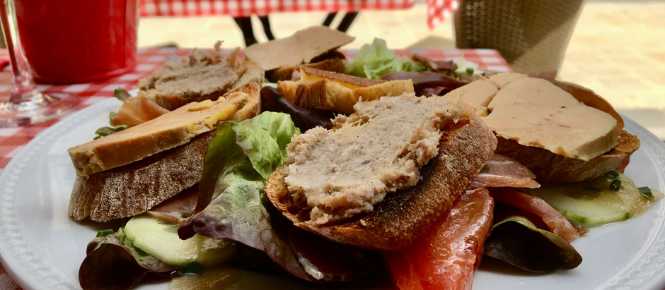 Salade du Périgord - Restaurant Chez Marie