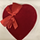 Thumbnail: 1 lb. Elite Creams & Clusters Heart Box - Suede Cover
