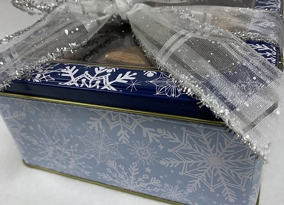 Snowflake Window Tin Gift Box