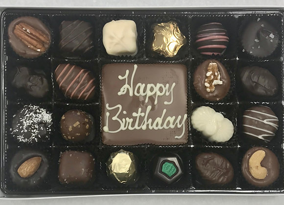 """Happy Birthday"" Elite with Chocolate Bar"