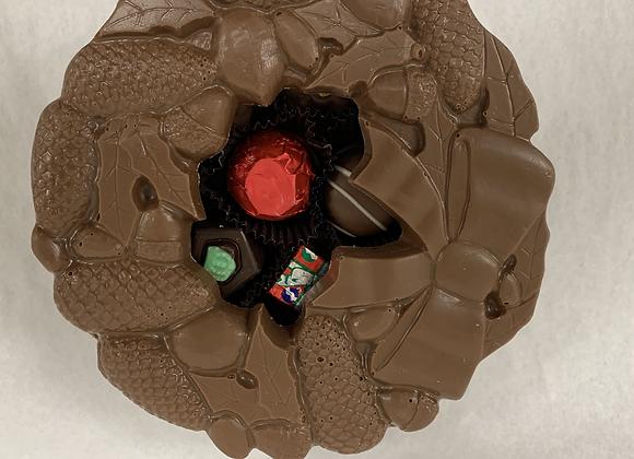 Chocolate Wreath Box