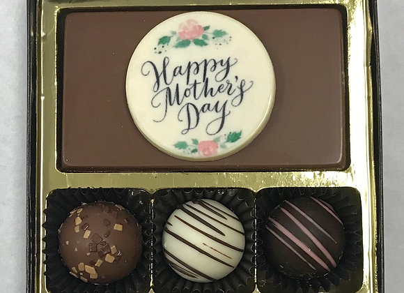 """""""Happy Mother's Day Bar""""  and Swiss Syle Truffles"""