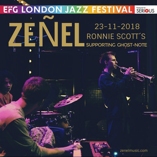 Zeñel opening set for Ghost Note