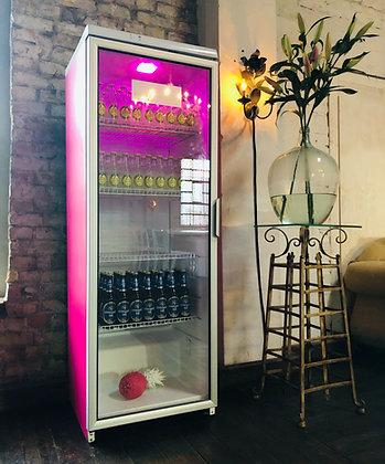 Kühlschrank Magenta