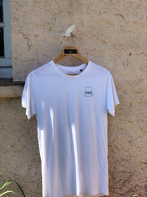 T-shirt tourne disque