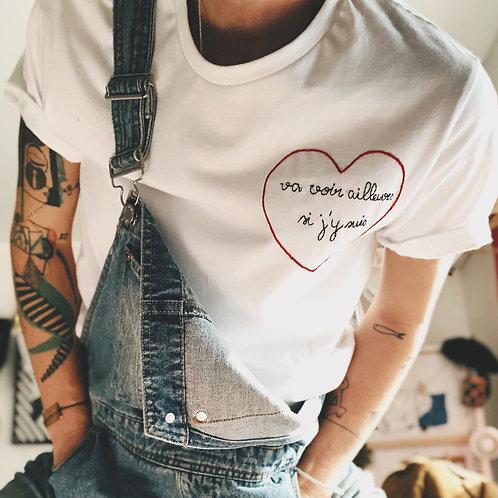 T-shirt Va voir ailleurs si j'y suis