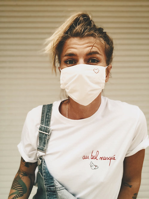 "T-shirt ""Au bal masqué"""