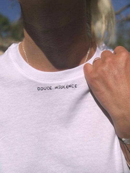 T-shirt minimaliste «DOUCE INSOLENCE» ou à personnaliser