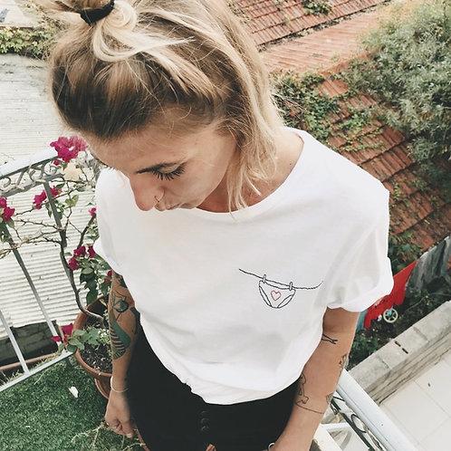 T-shirt de la culotte qui sèche