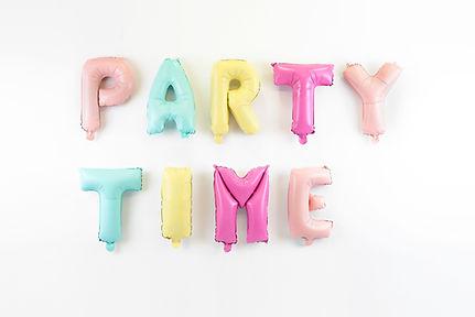 Tijd voor een feestje