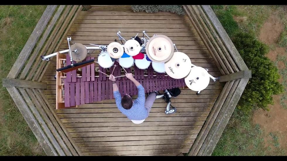 "Drum cover of ""Rockabye"" by Clean Bandit"