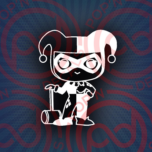 Harley Quinn Decal
