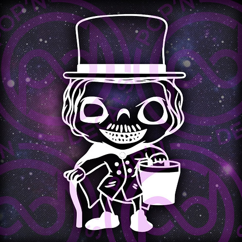 Hatbox Ghost Decal