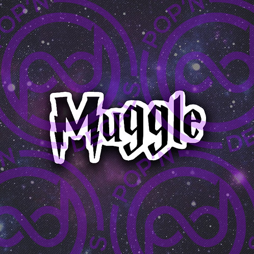 Muggle Decal