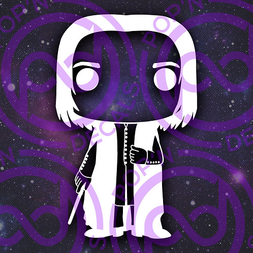 Snape Decal
