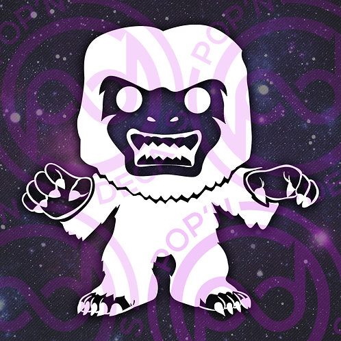 Abominable Snowman Decal