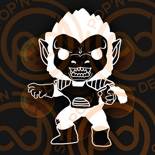 Ape Vegeta Decal