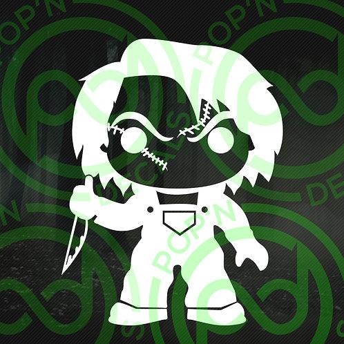 Chucky Decal