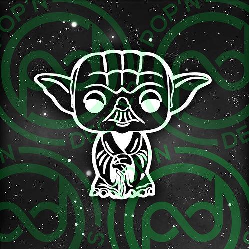 Yoda Decal