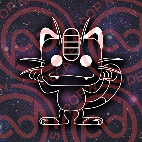 Meowth Decal