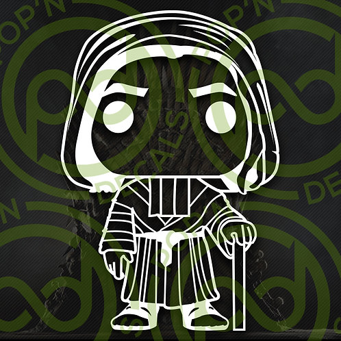 Jaqen Decal