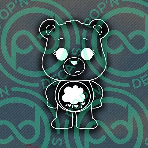 Drumpy Bear Decal