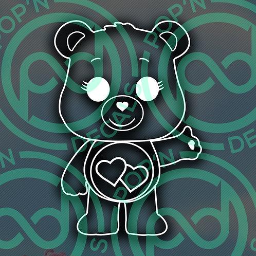 Love Bear Decal