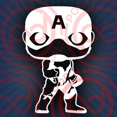 Cp. America - Avengers Decal