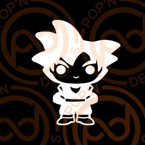 Goku Decal