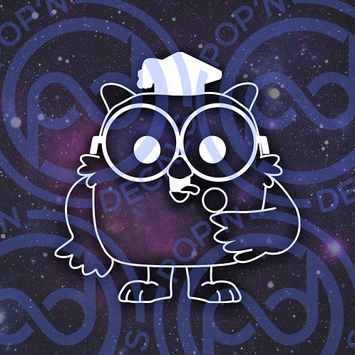 Tootsie Pop Owl Decal