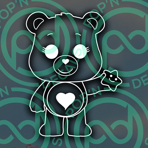 Tender Heart Bear Decal
