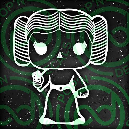 Princess Leia Decal