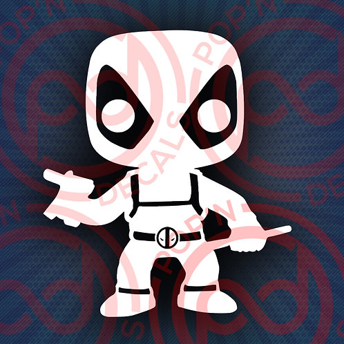 Deadpool Marvel Decal