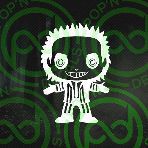 Beetlejuice Decal