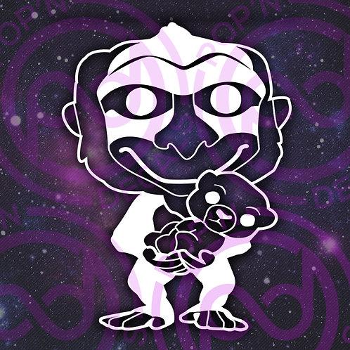 Rafiki With Simba Decal