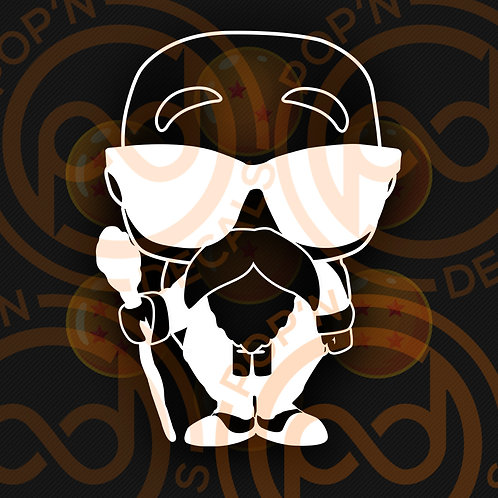 Master Roshi Decal