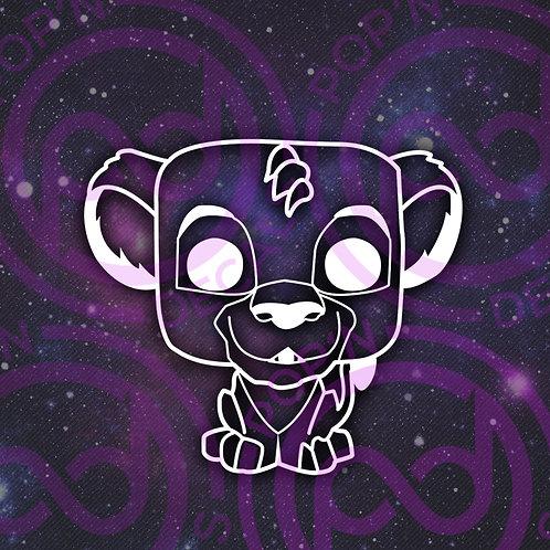 Simba Decal